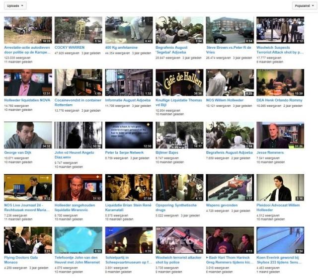 CRIME VIDEO's